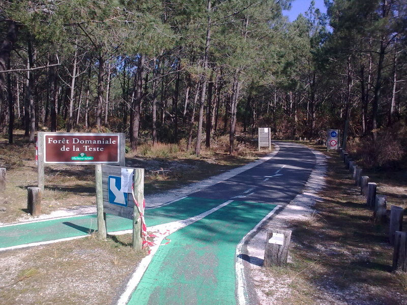Image result for piste cyclable landes